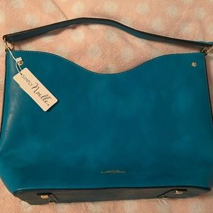 Simply Noelle Turquoise bag NWT